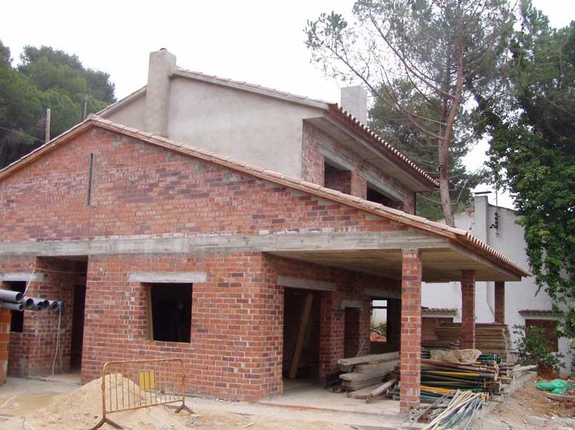 Construcción de casas unifamiliares