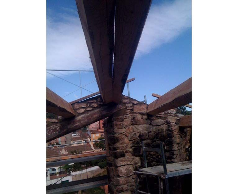 Construcción de tejados en Terrassa