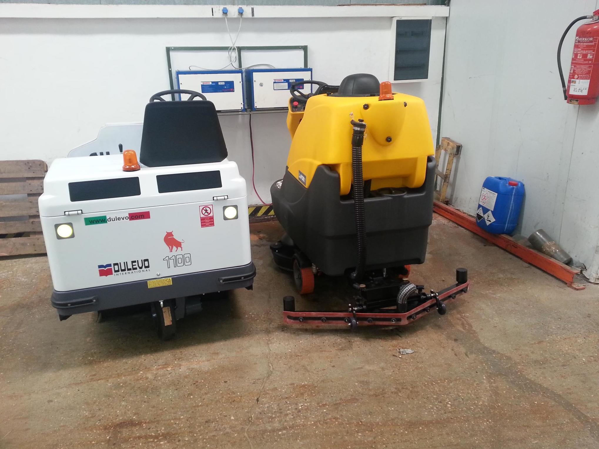 Venta y reparación de equipos de limpieza profesional en Navarra