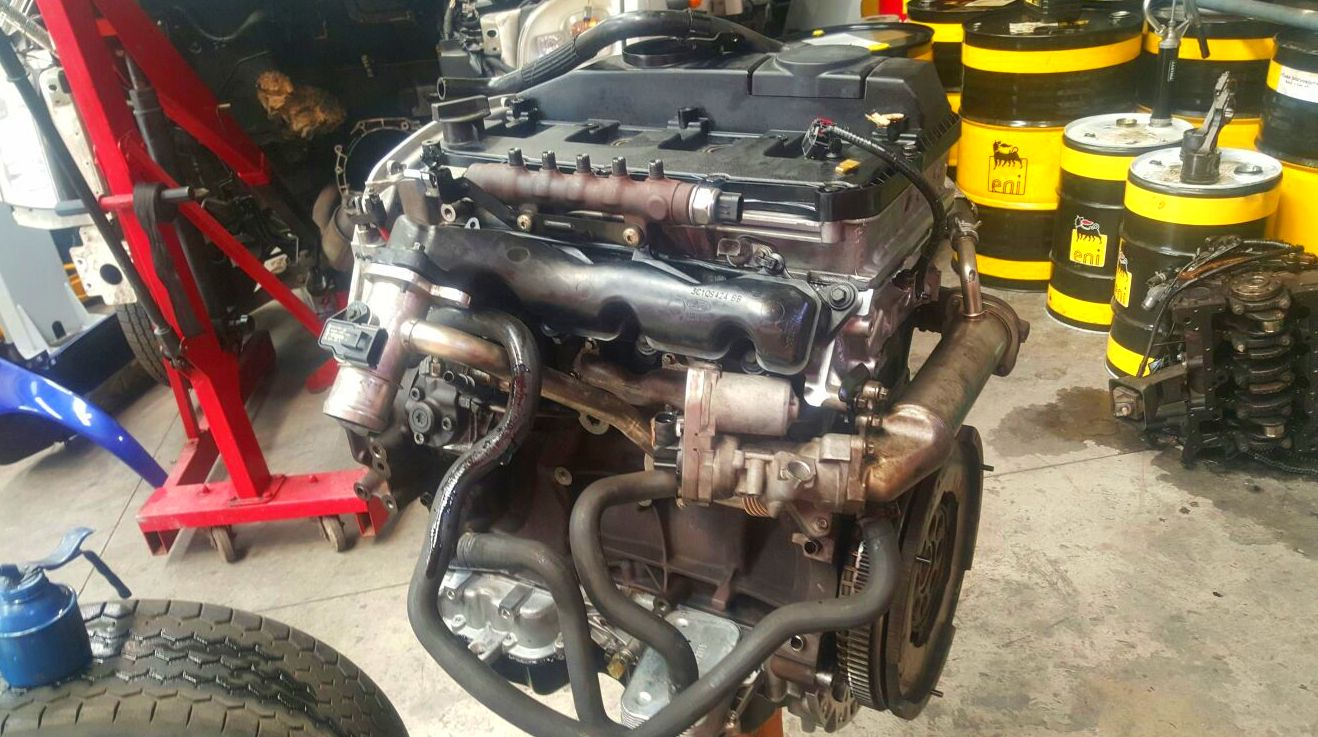 Motor Ford transit JXDA Reconstruido por completo