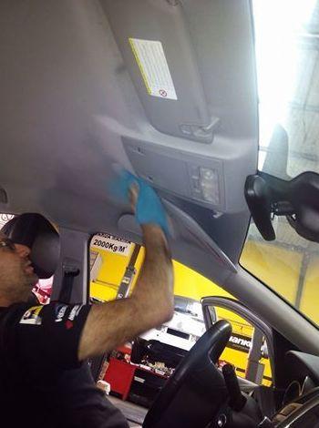 Preparación del vehículo para exposición en compraventa: Servicios de DG Autointegral