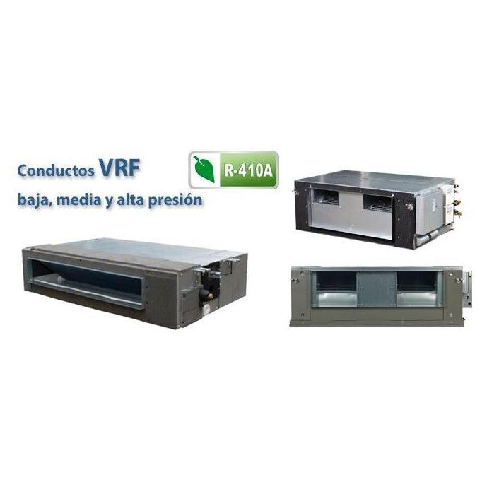Unidades Interiores VRF: Conductos: Aire Acondicionado y Estufas de Clima Confort Castilla
