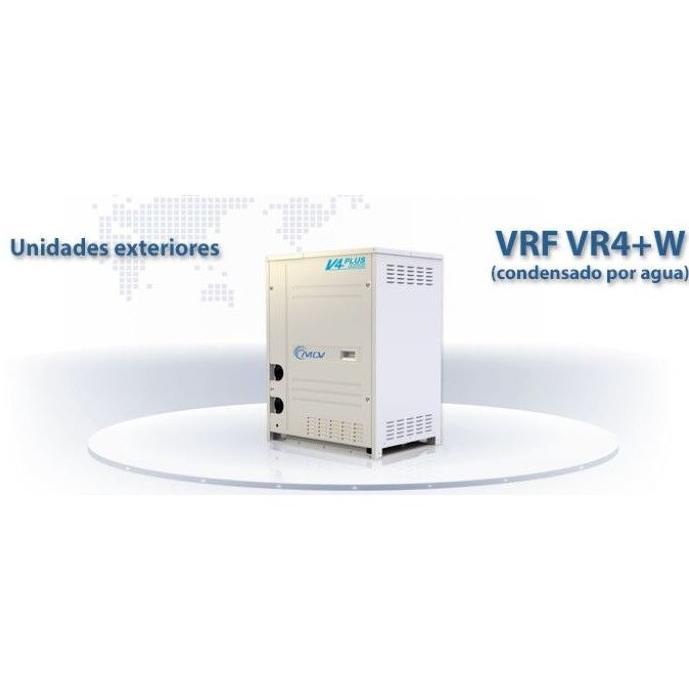 Unidades exteriores VRF 3 tubos VR4+W (Condensado por agua): Aire Acondicionado y Estufas de Clima Confort Castilla