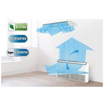 Unidades de Suelo Techo serie Office: Aire Acondicionado y Estufas de Clima Confort Castilla