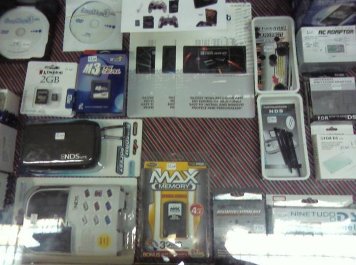 Accesorios consolas de videojuegos
