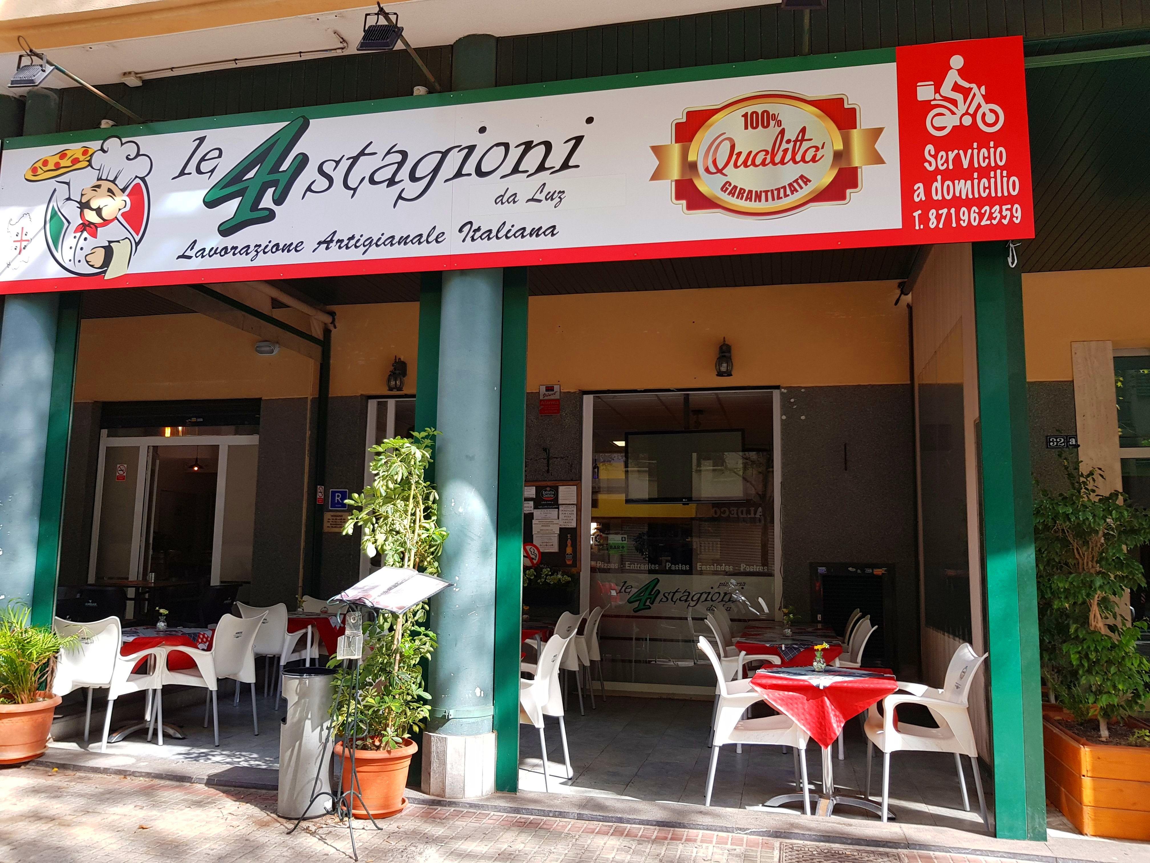 Foto 2 de Pizzería en Palma | Pizzería Le 4 Stagioni