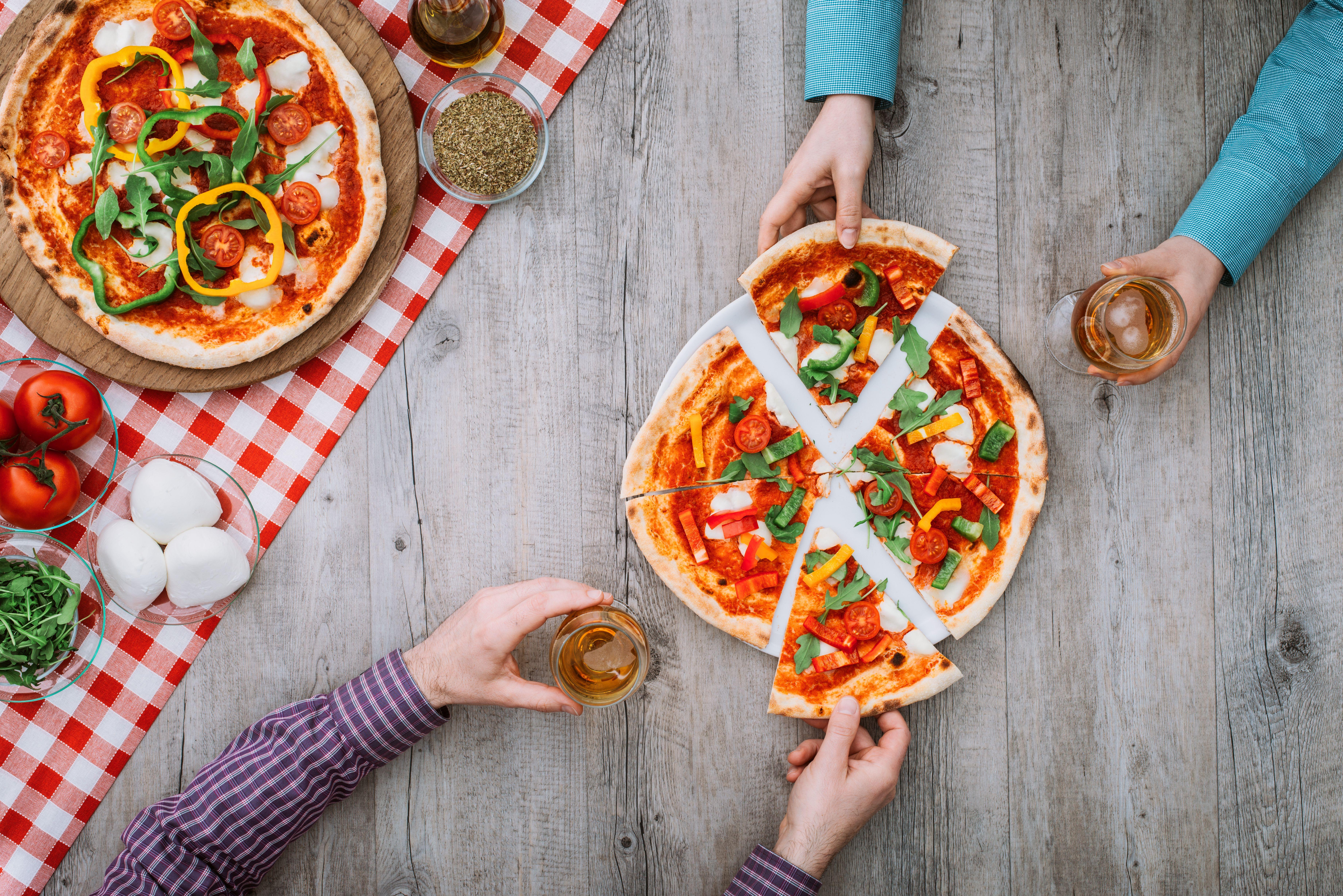 Gran variedad de pizzas