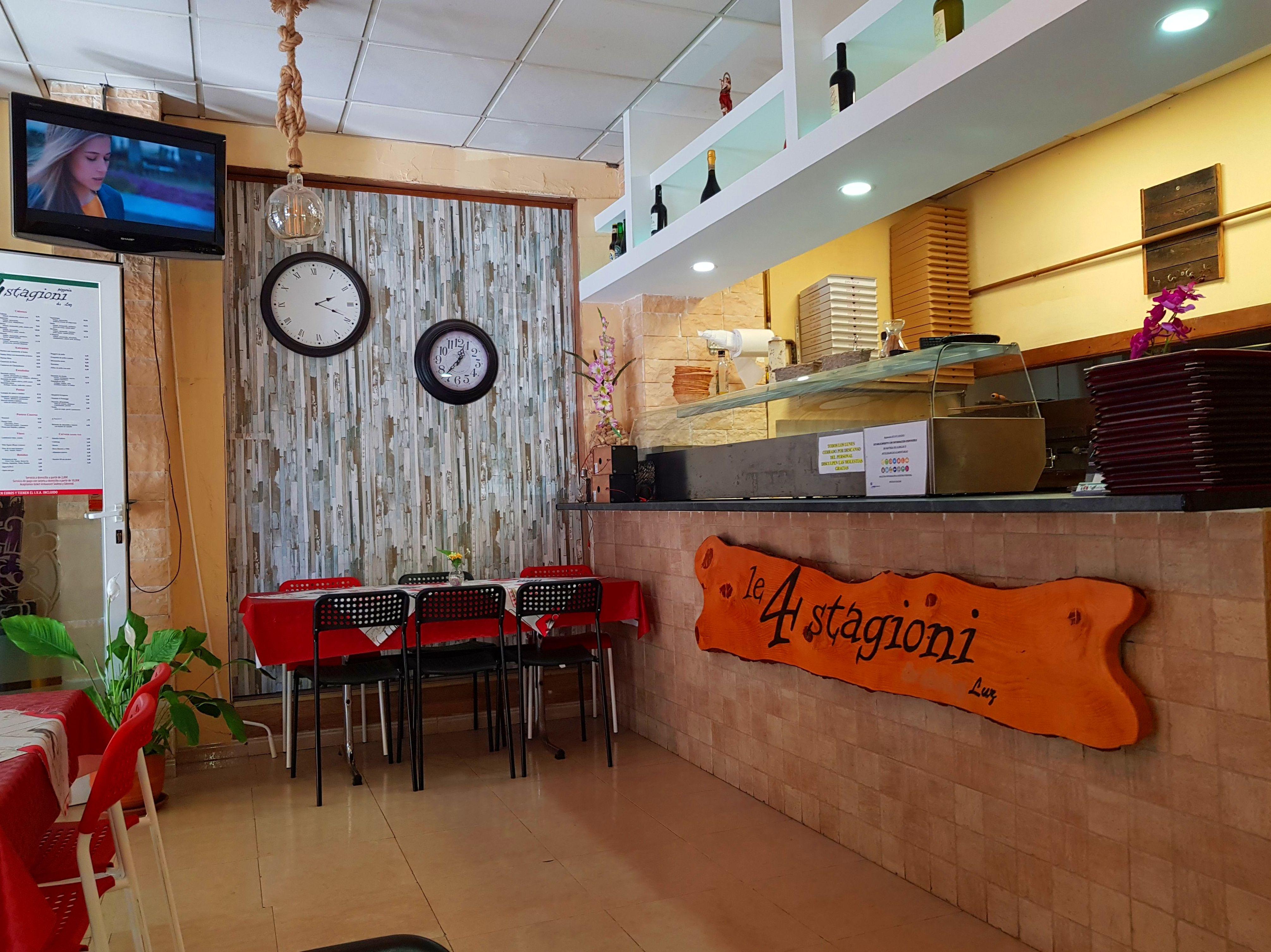 Foto 1 de Pizzería en Palma | Pizzería Le 4 Stagioni