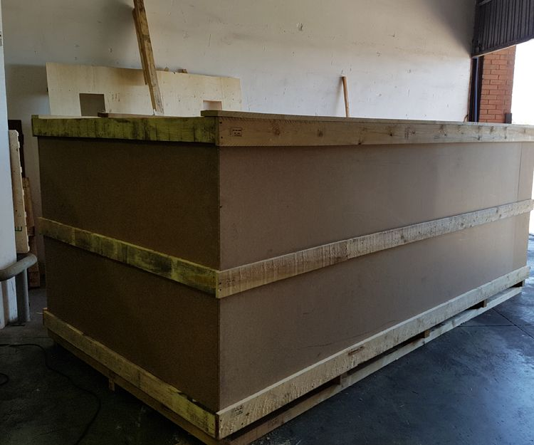 Embalaje de madera a medida