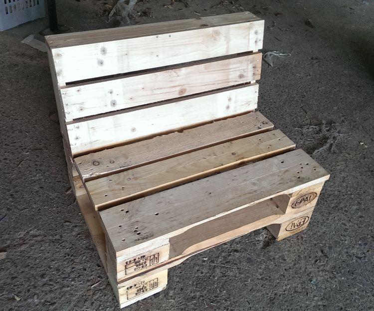 Muebles con palets en Barcelona