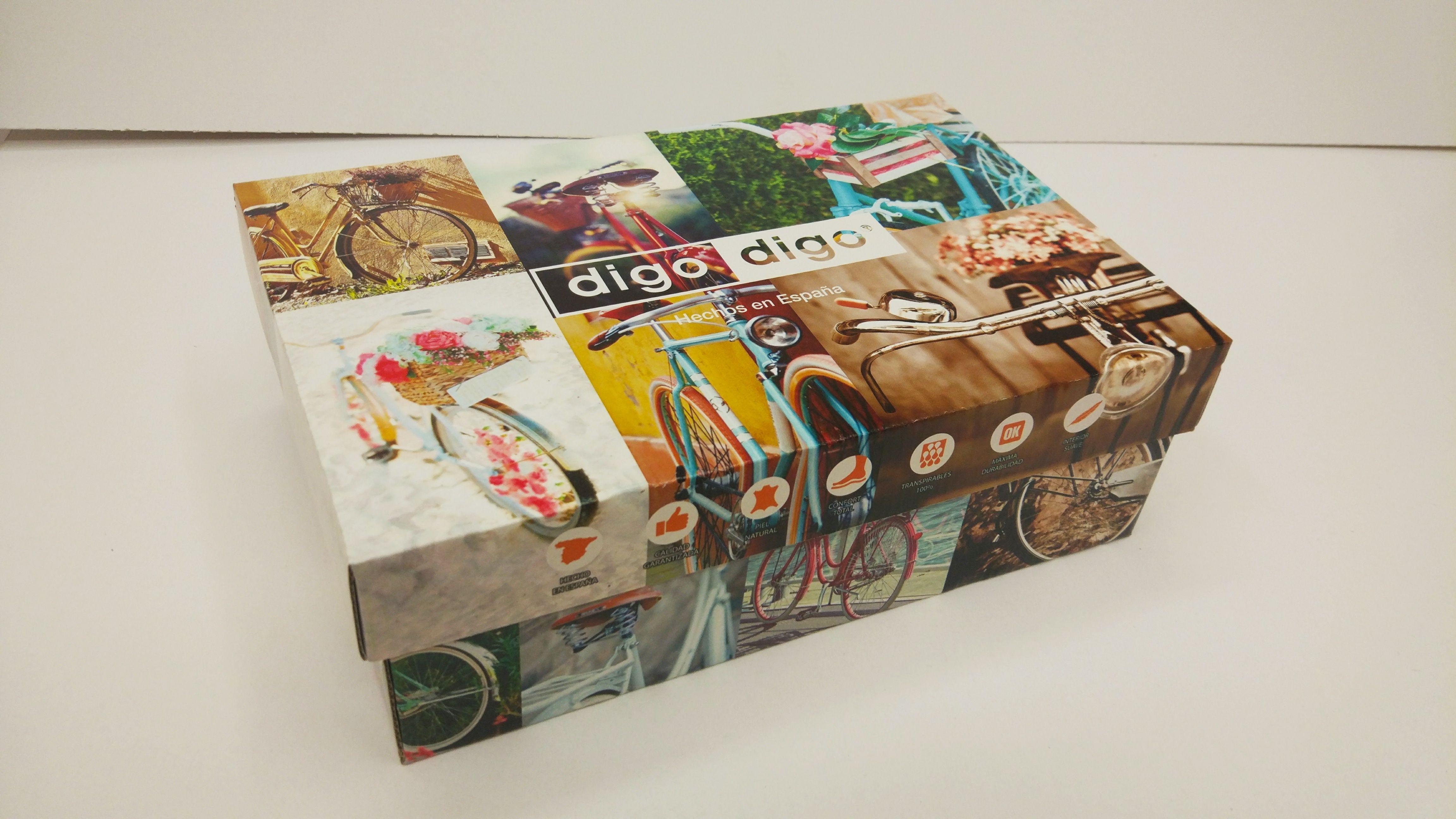 Cajas cuatricomía: Productos de Gráficas Ros