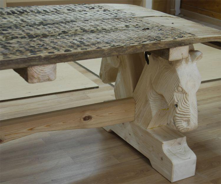 Mesas de madera personalizadas