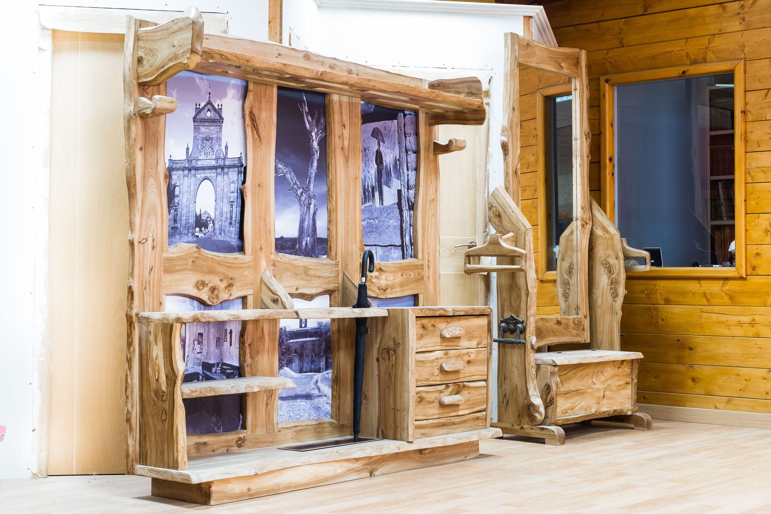 Muebles rústicos de diseño en Sahagún, León