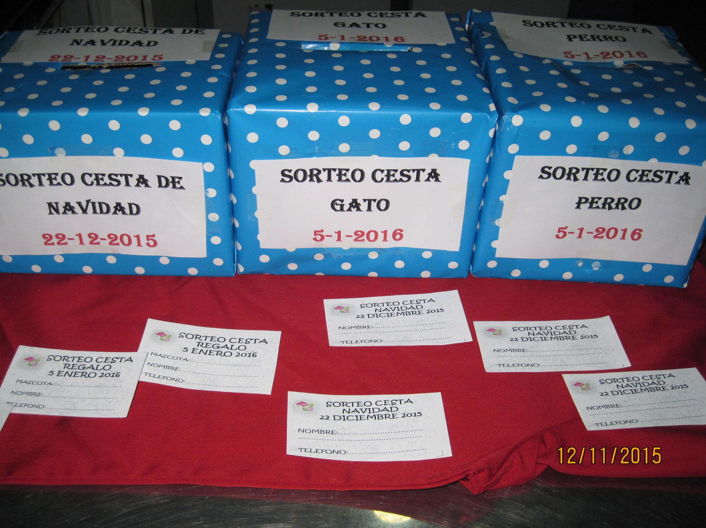 Sorteamos cestas de Navidad entre nuestros clientes