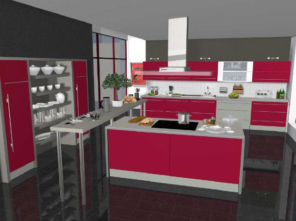 Diseños cocinas 3D: Productos y servicios de Construcciones y ...