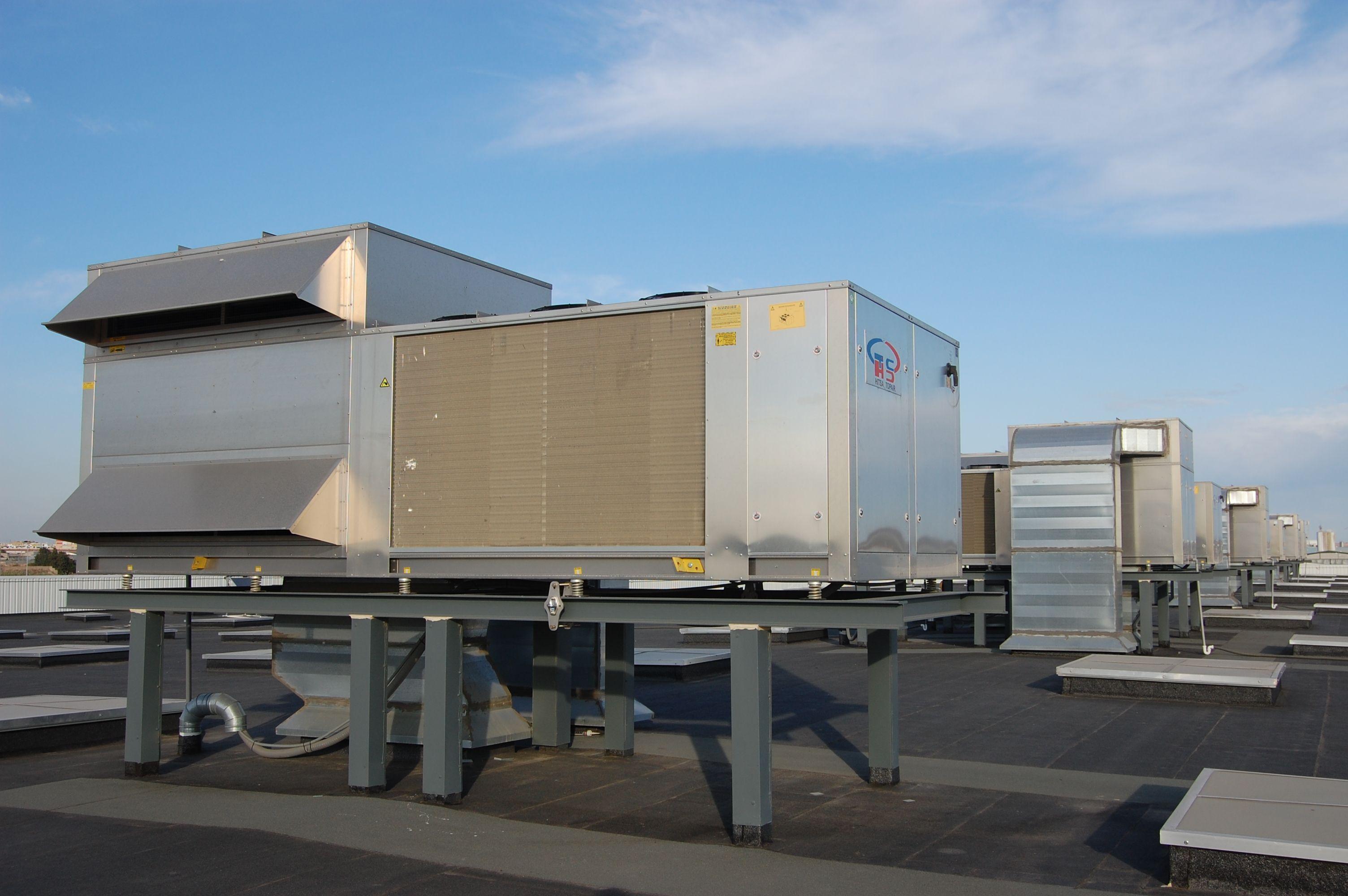 Roof Top: Productos y servicios de Airser Khoinsa