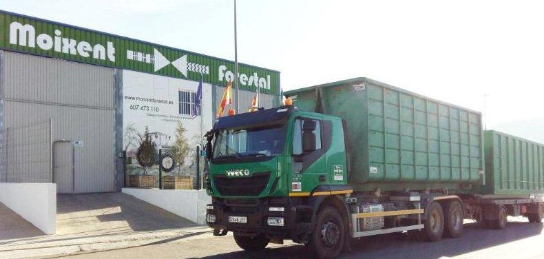 Trabajos forestales en Valencia