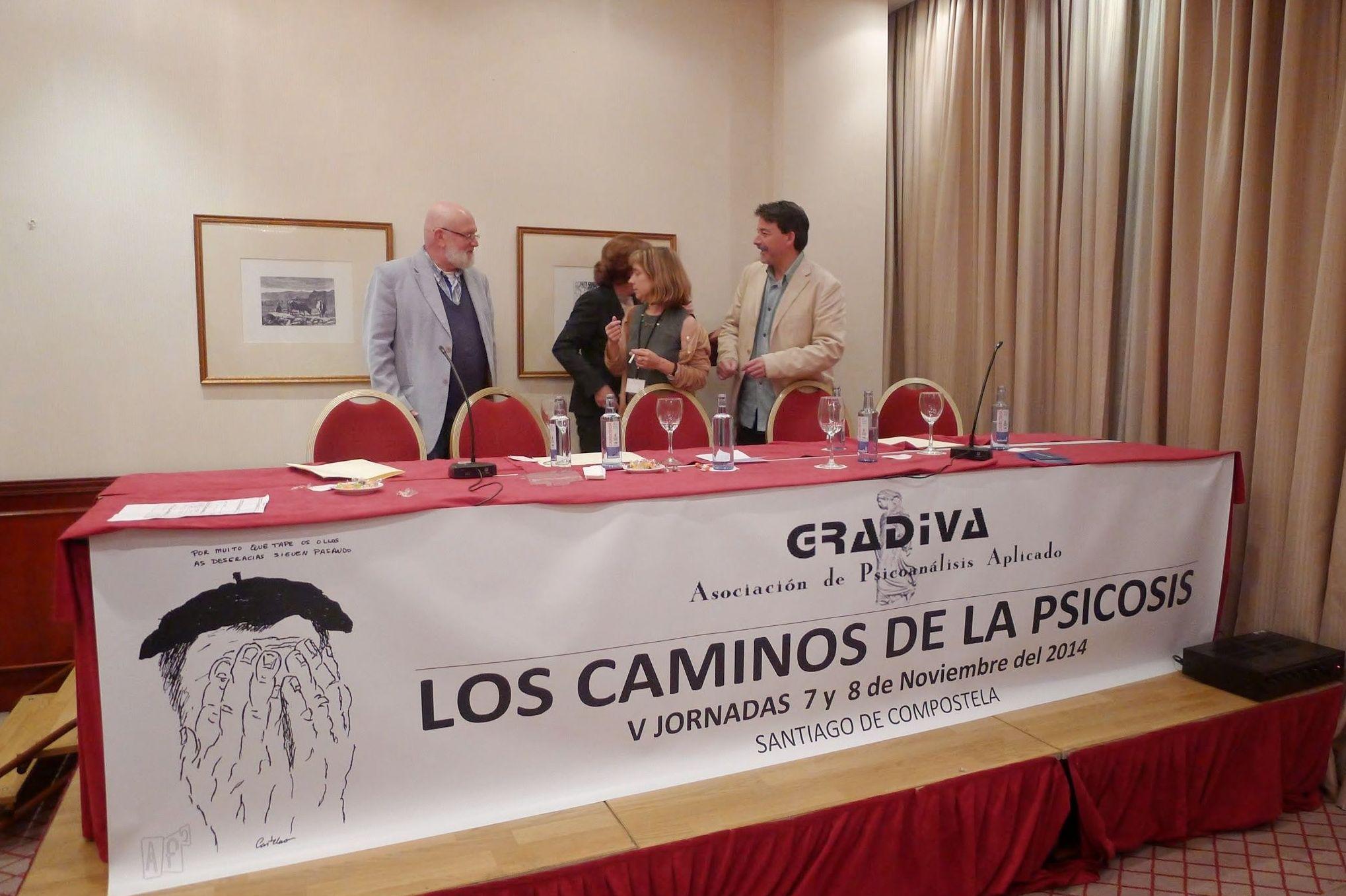 Conferencia sobre psicosis en Santiago de Compostela