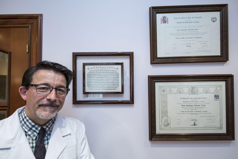 Doctor Santiago Parada Nieto, especialista en psiquiatría