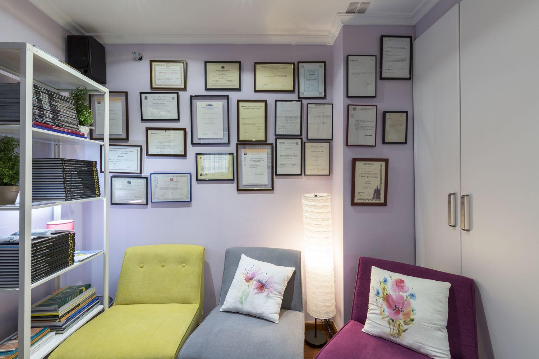 Sala de tratamiento para la ansiedad y la depresión