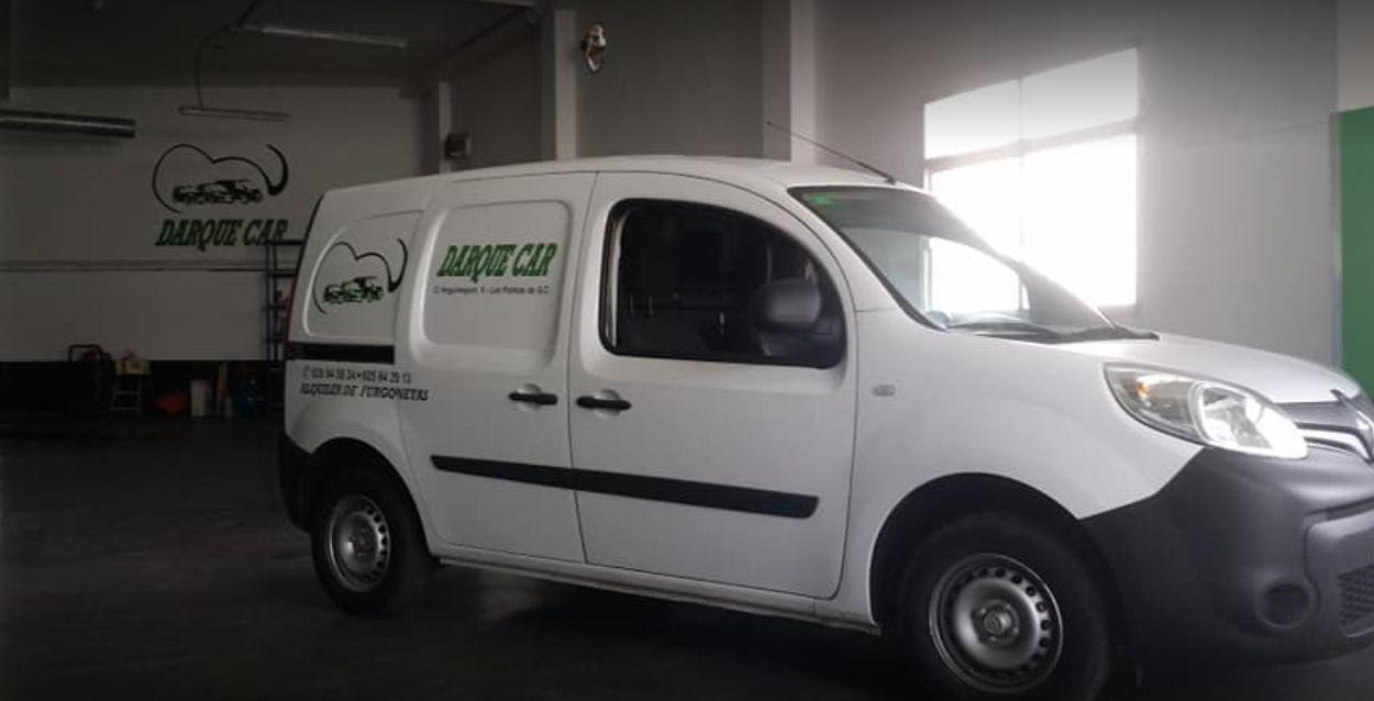 Alquiler vehículos publicitarios Las Palmas de Gran Canaria