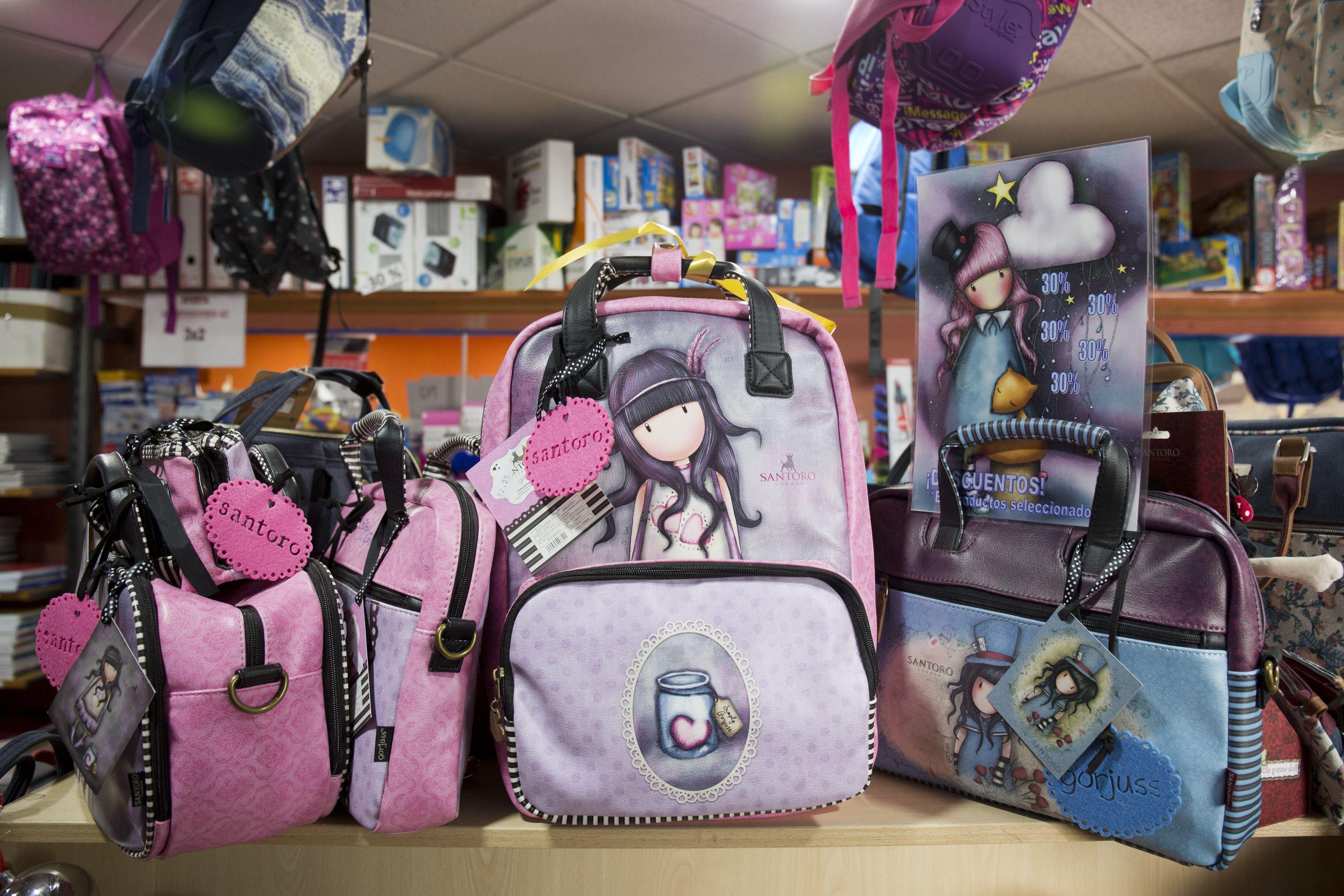 Divertidas mochilas para tus hijas