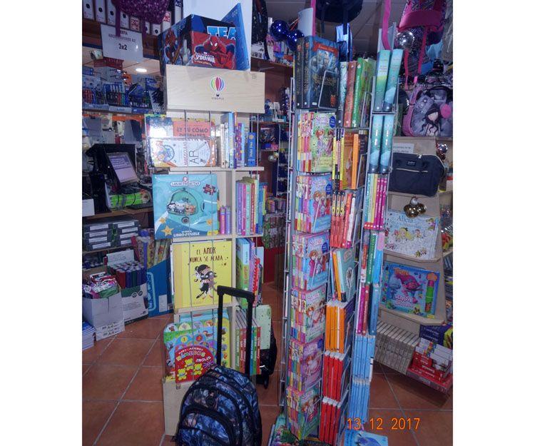 Venta de libros y cuentos en Benalmadena