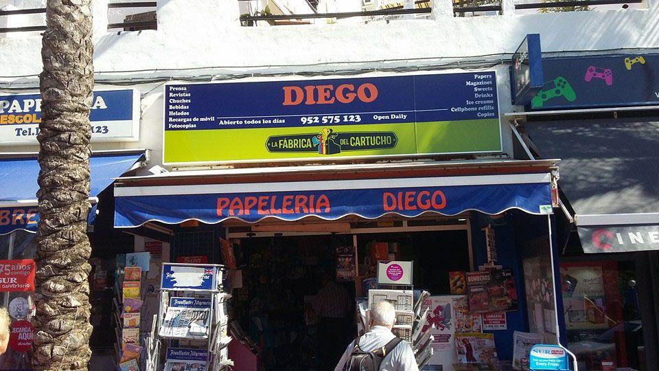 Papelería Diego en Benalmadena