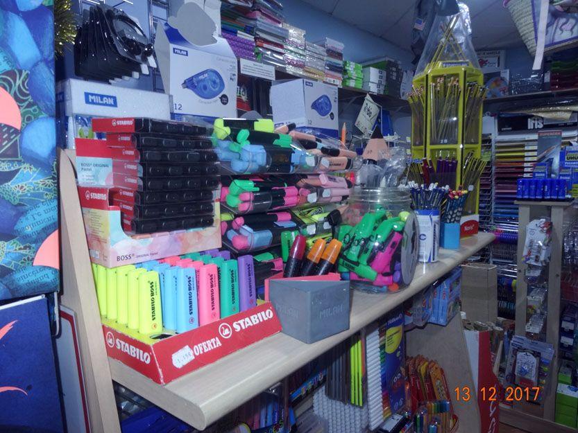 Material de oficina en Benalmadena