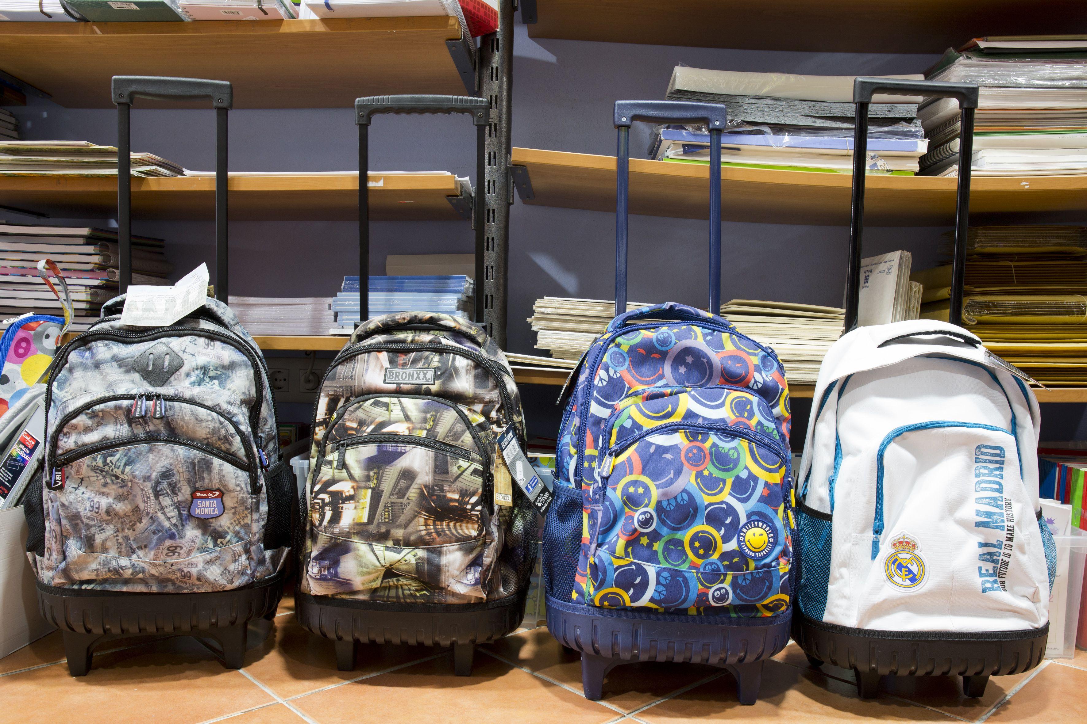 Gran variedad de mochilas