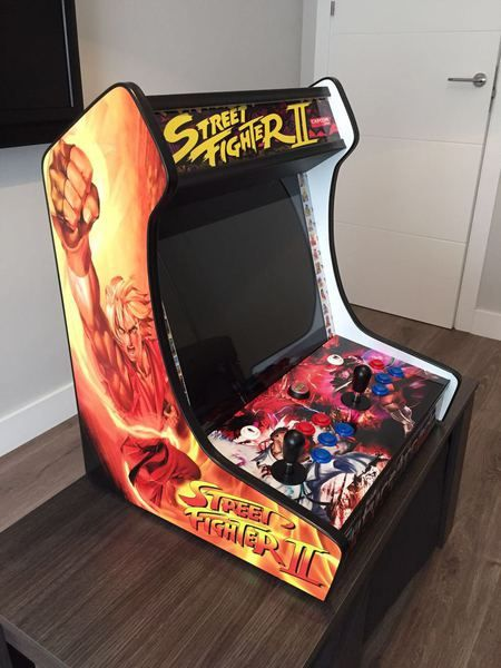 Recreativa bartop: Máquinas recreativas de Arcade Retro