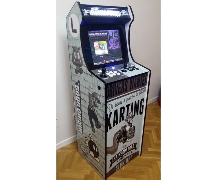 Fabricante de máquinas Arcade en Madrid