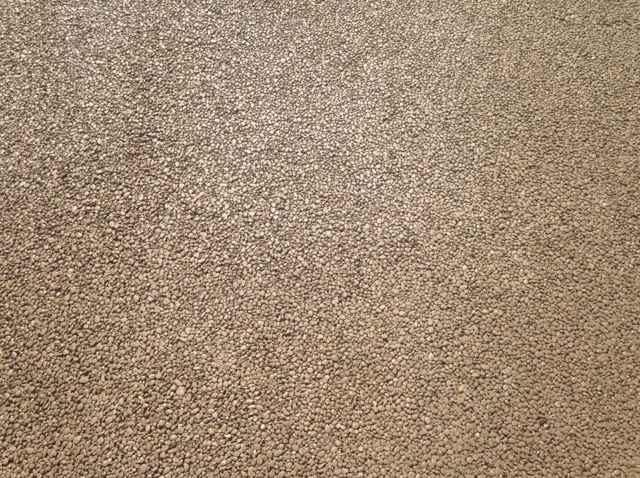 Pavimento de hormigón poroso,dry Quick sin tratamiento de color Acrycolor