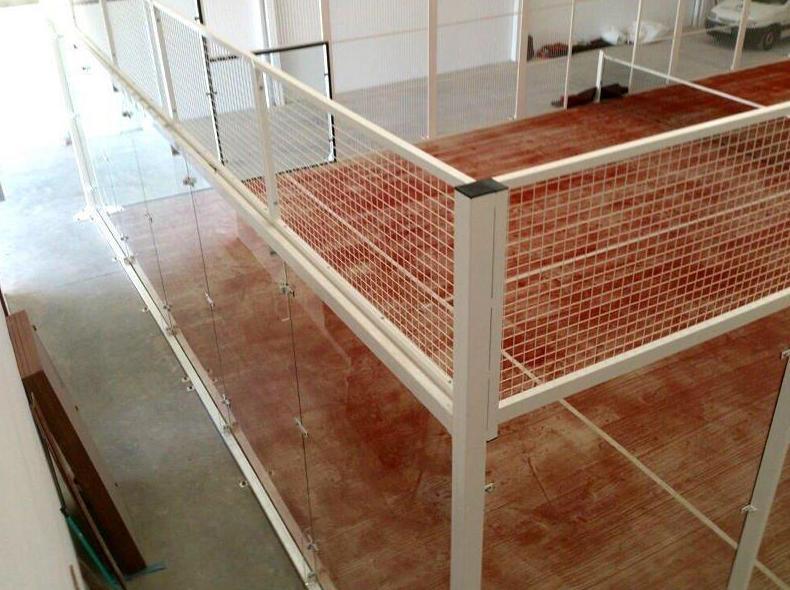 Césped artificial para la practica del padél