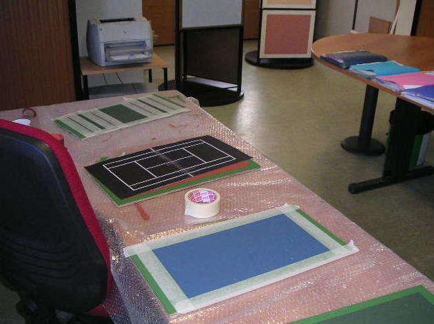 Área de trabajo departamento Técnico Pavipor