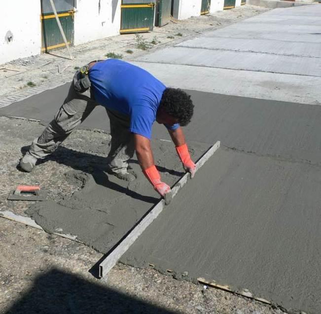 Mortero cementoso alta resistencia para muelles de carga