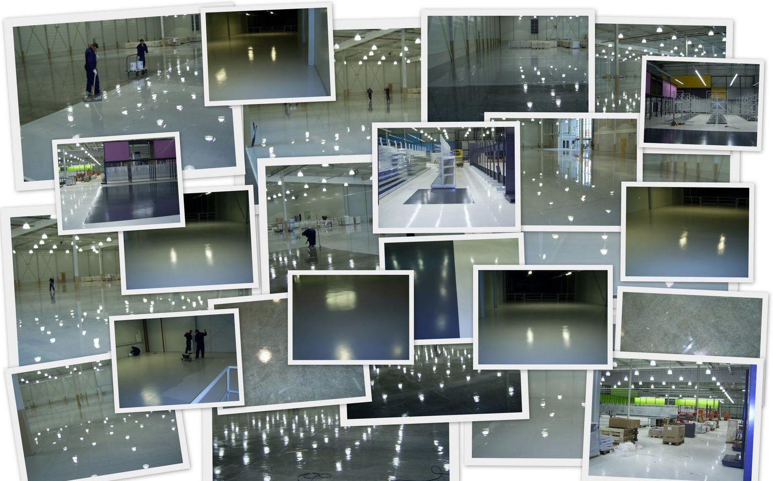 Collage de pavimentos epoxis