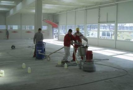 Preparación mecánica de superficies, lijado, amolado, fresado, dianovado, granallado