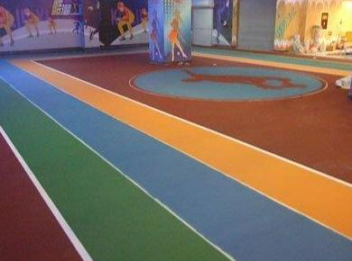 Pavimento resina sintética para la practica de patinaje y hockey