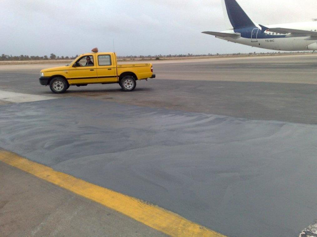 Pavimento especial para aeropuertos