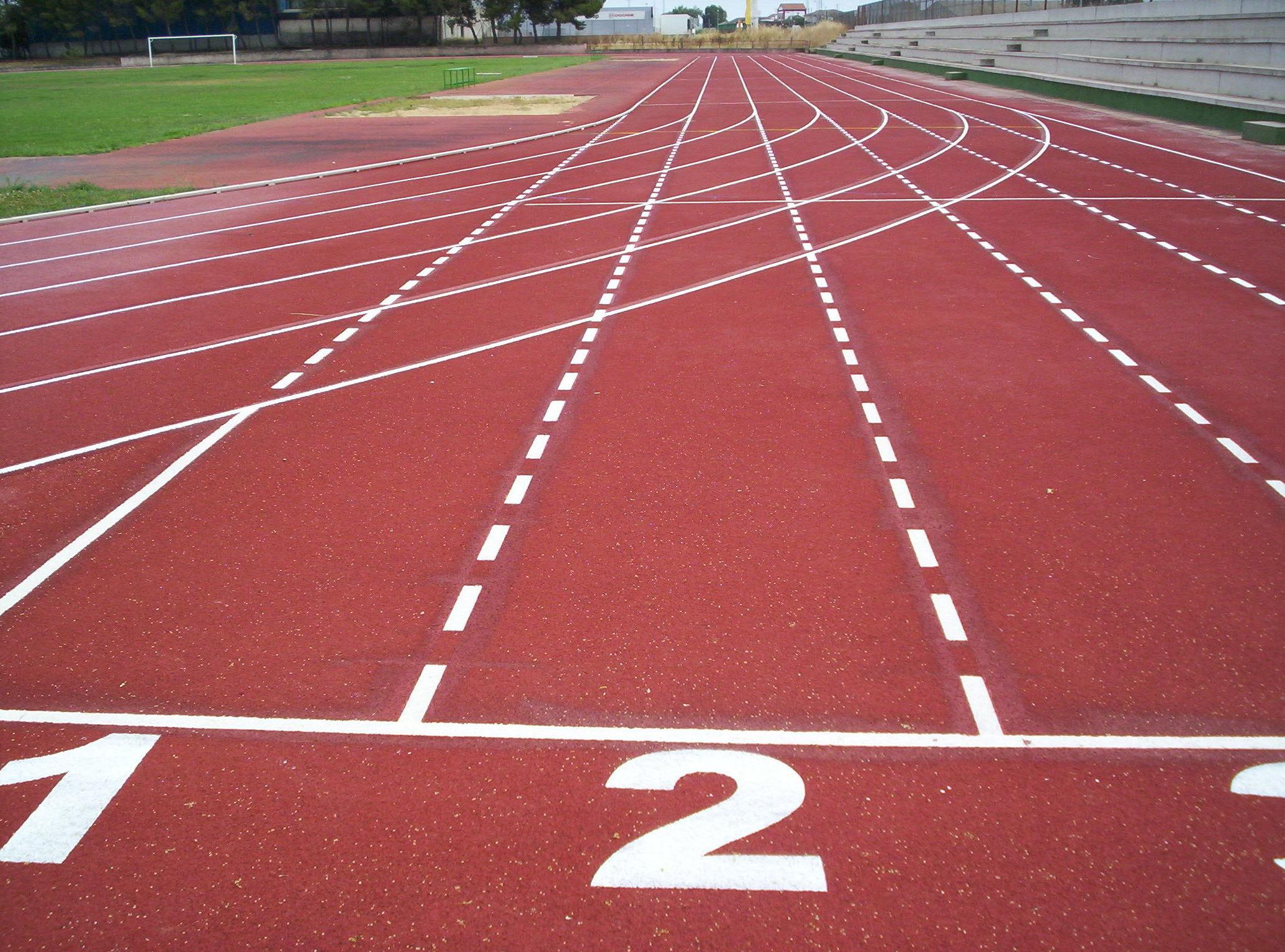Pavimento EPDM pista de atletismo