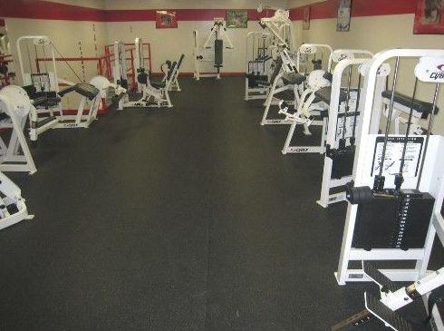 Pavimento EPDM para gimnasios o salas de musculación