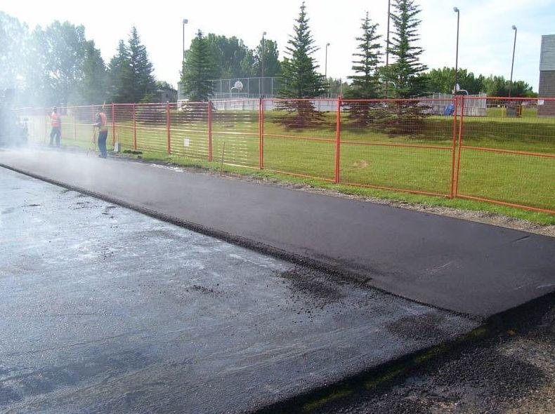 Extendido de pavimento bituminoso en caliente