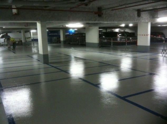 Pavimentos especiales para garajes comunitarios
