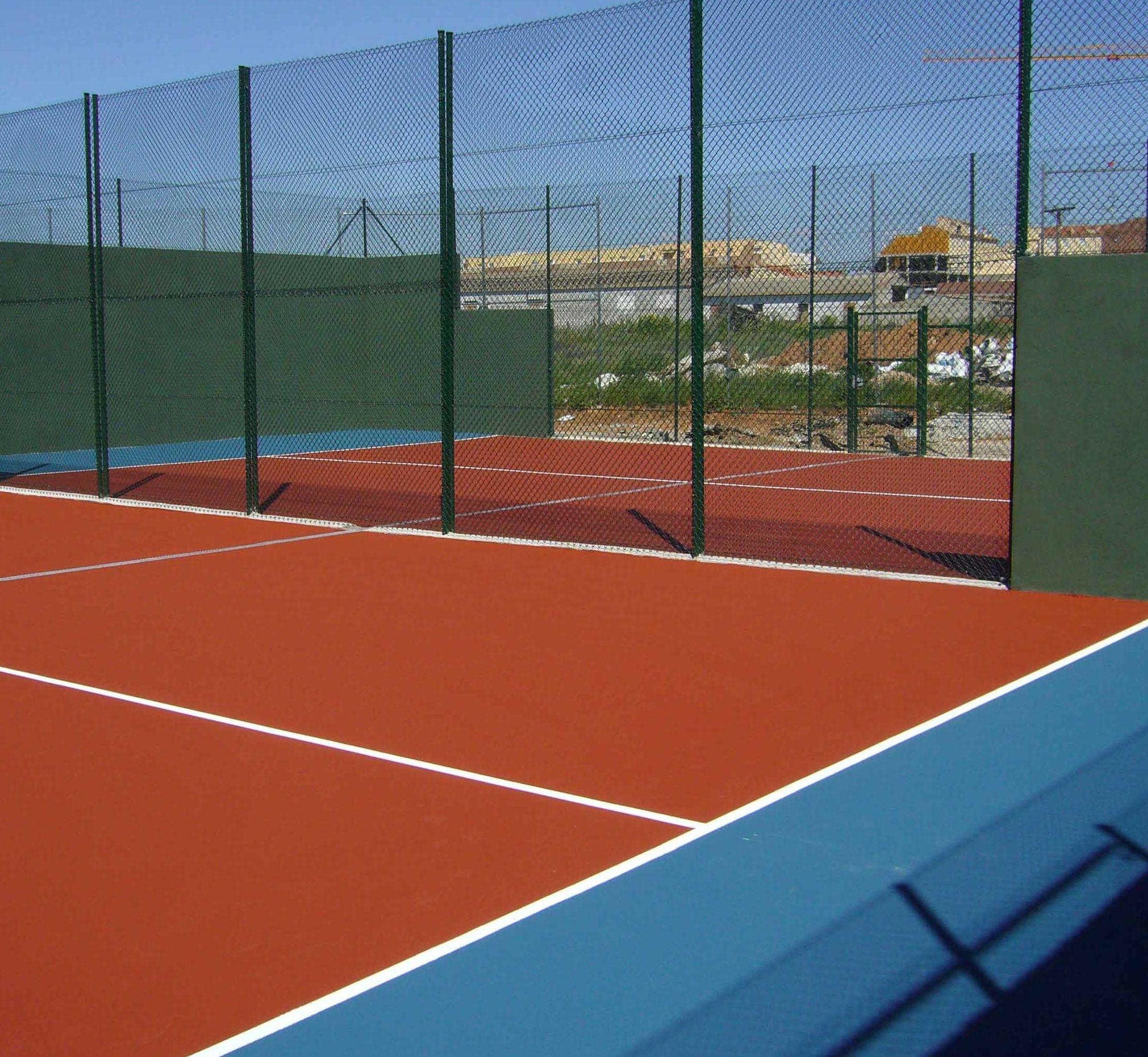 Cerramientos para espacios deportivos