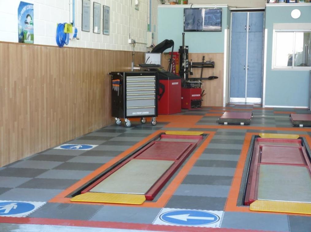 Montaje de pavimento desmontable sin obras
