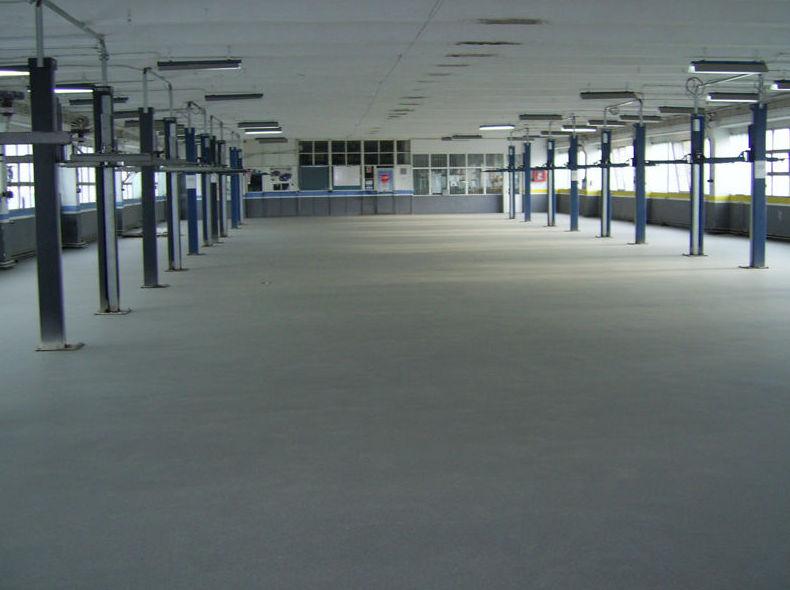 Pavimento para sala textil