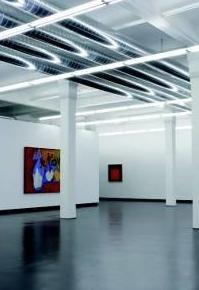 Pavimentos para salas de exposiciones