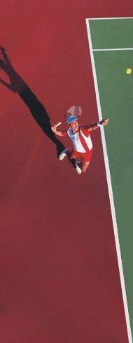 Reconversión pista de tenis de hormigón poroso a resinas elastoméricas en base acrílicas con capas de goma