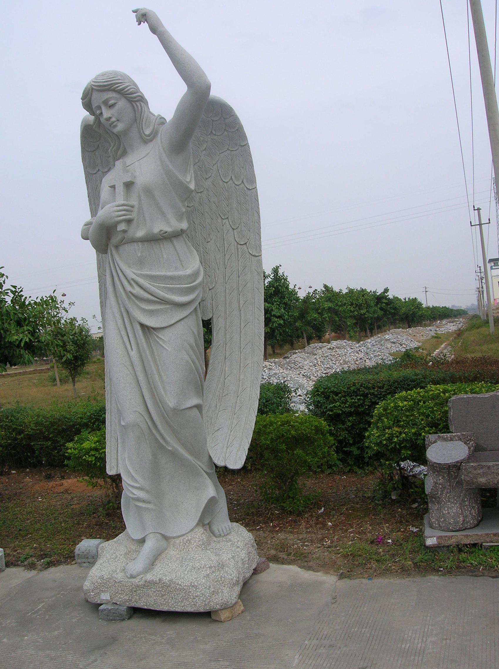 Esculturas para tumbas en granito